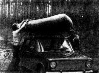 Собранный «Орион-8» может служить удобной «картоп»-лодкой