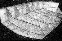 Соединение днищевой секции с бортовой