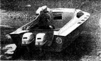 «Сонни» с двумя подвесными моторами