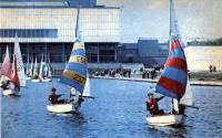 Соревнования в Москве на Останкинском пруду