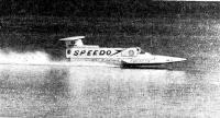 «Спирит оф Австралия» во время рекордного заезда 8 октября 1978 года