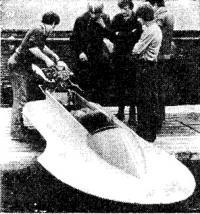 Спортсмены готовят к испытаниям серийный гоночный скутер