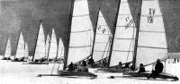 Старт буеров класса «Монотип XV»