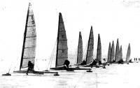 Старт буеров класса С-8А