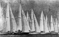 Старт гонок Адмиральского кубка