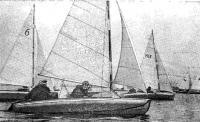Старт соревнований на разборных туристских швертботах на приз «Катеров и яхт»