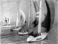Старт яхт I зачетной группы