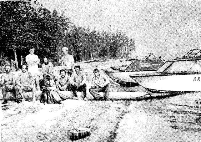 Стоянка на Выгозере — на трассе Беломорско-Балтийского канала