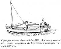 Сухогруз «Мини Лейс» с вооружением кэт