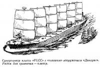 Супертанкер класса «VLCC» с «типовым» вооружением «Динариг»