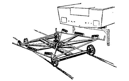 Тележка для транспортировки лодок по суше