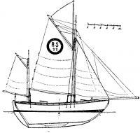 Типичная яхта Колина Арчера