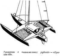 Тримаран с «минимальной рубкой» — «Кракен-40»