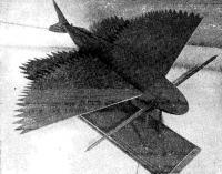 Твердая модель летучей рыбы