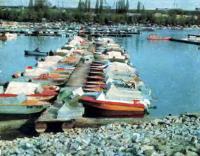 У причалов на Выдубецком озере