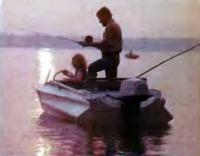 У рыбаков мотор «Нептун» очень востребован