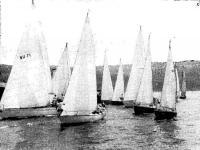 Участники гонки готовятся к старту