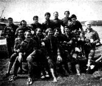 Участники похода перед стартом в Запорожье