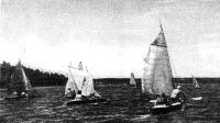 Участники развернули паруса