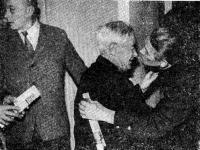 Участники встречи (слева направо): Михаил Пахомов, Сергей Седов, Михаил Егоров
