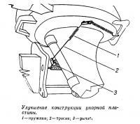 Улучшение конструкции упорной пластины