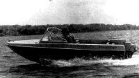 Усовершенствованная модель моторной лодки «Днепр»