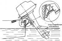 Установка упора на моторы «Ветерок»