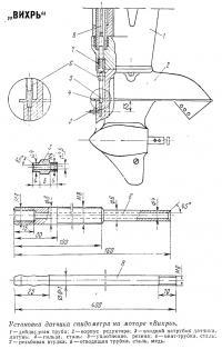 Установка ватника спидометра на моторе «Вихрь»