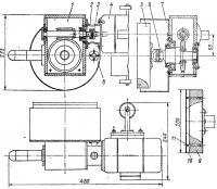 Устройство для электромеханического шлифования обшивки