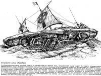 Устройство лодки «Брендан»
