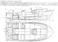 Устройство рыболовного варианта лодки