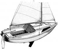 Устройство серийной прогулочно-туристской мини-яхты типа «Ассоль»
