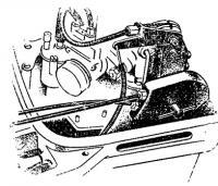 Устройство смонтированное на моторе