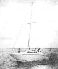«V-5» на крейсерской скорости около 45 км/ч