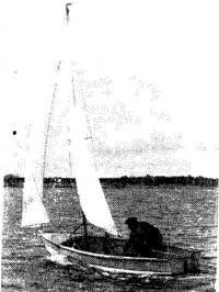 В. И. Ильевский в гонке