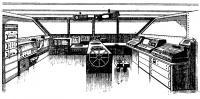 В рулевой рубке яхты «Клуб Медитерранэ»