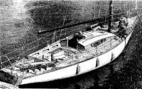 «Варяг» — новая яхта Ленинградской судоверфи ВЦСПС