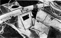 Вид на кокпит «Фёд Тартл»