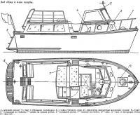 Вид сбоку и план палубы