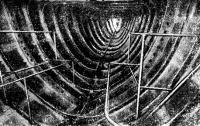 Вид сварного корпуса (из легкого сплава) «Корейджеса» изнутри