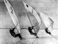 Виндсерфинги спортклуба «Север»