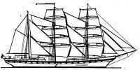 Внешний вид барка «Симон Боливар»