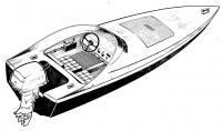 Внешний вид лодки «Афалина»