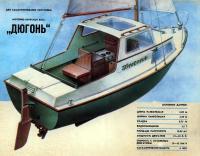 Внешний вид яхты «Дюгонь»