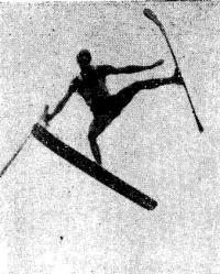 Воднолыжник-акробат