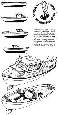 Водоизмещающий катер «Мюрскю-Янне-800»