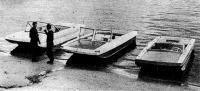 Водометные катера-тримараны типа «Дельфин»