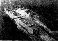 Волнообразование катера-катамарана с корпусами, поставленными плоскими бортами наружу