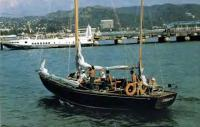Возвращение яхты типа «Конрад-45» с пробного выхода в море