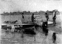 Встреча с известным камчатским водномоторником В. Сальниковым на Иртыше